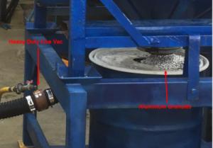 气力输送器有助于铝熔炼工艺