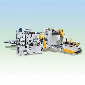 GLK04三机一体式高涨力板材伺服整平送料机